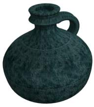 alice holt pottery flask